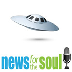 News for the Soul Scientist says aliens in UFOs might be Earthlings from the future image